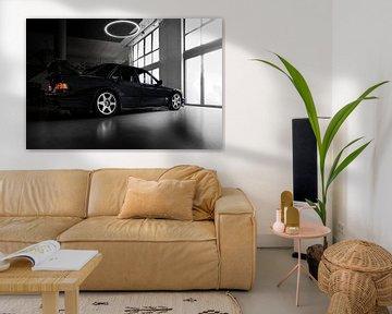 Mercedes E190 Evolution II-zijde van Christian Mack