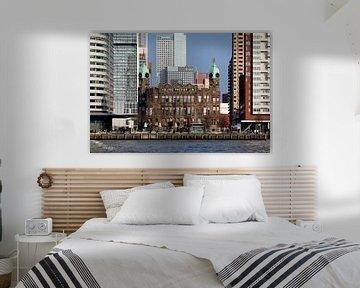 """Hotel New York """"dazwischen"""" (Farbe) von Rick Van der Poorten"""