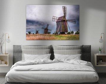 Öland's windmills van Marc Hollenberg