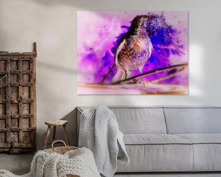Beispiel: Purple Dove Phantasy von Nicky`s Prints