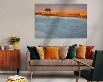 Kiekkaaste, Nieuwe Statenzijl, Groningen, Nederland van Henk Meijer Photography