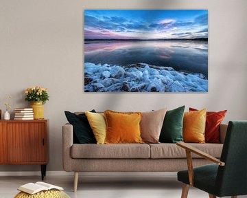 Winterlicher See von Marc Hollenberg