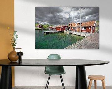 Schweden Insel Stora grindo von Marc Hollenberg