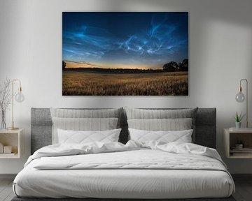 Leuchtende Nachtwolken von Marc Hollenberg