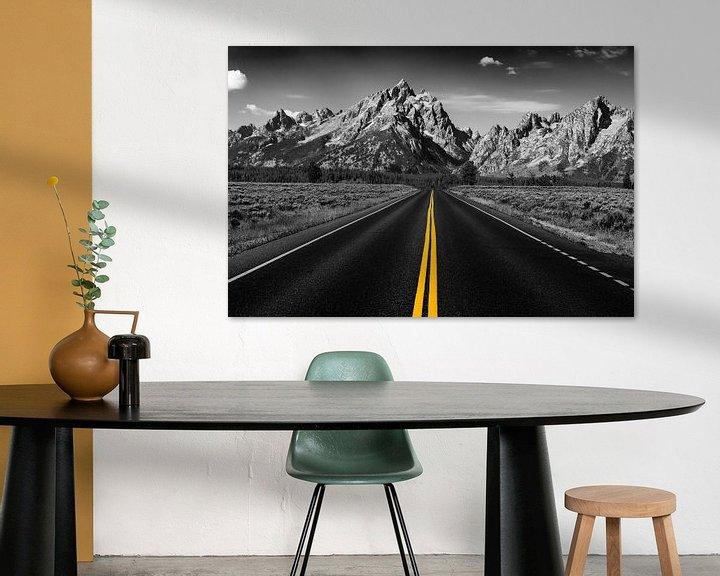 Sfeerimpressie: The road to the mountains van Bart van Dinten