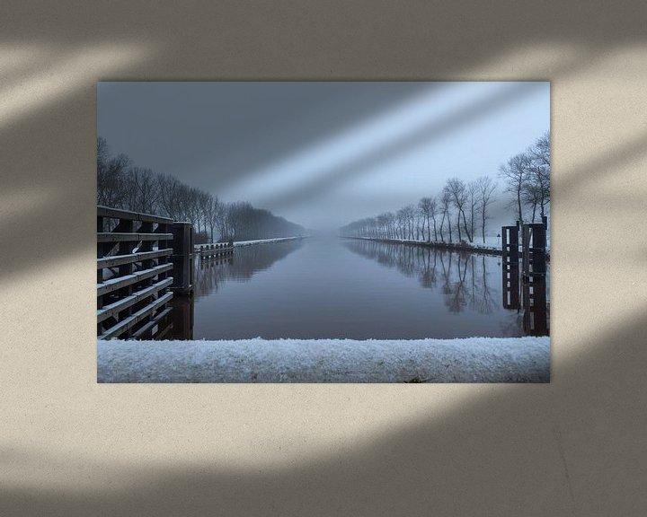 Sfeerimpressie: Eindeloos Eemskanaal van Ron Buist