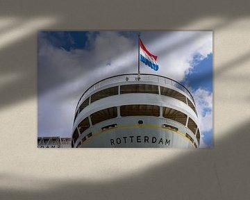 Ehemaliges Dampfschiff SS Rotterdam (Farbe) von Rick Van der Poorten