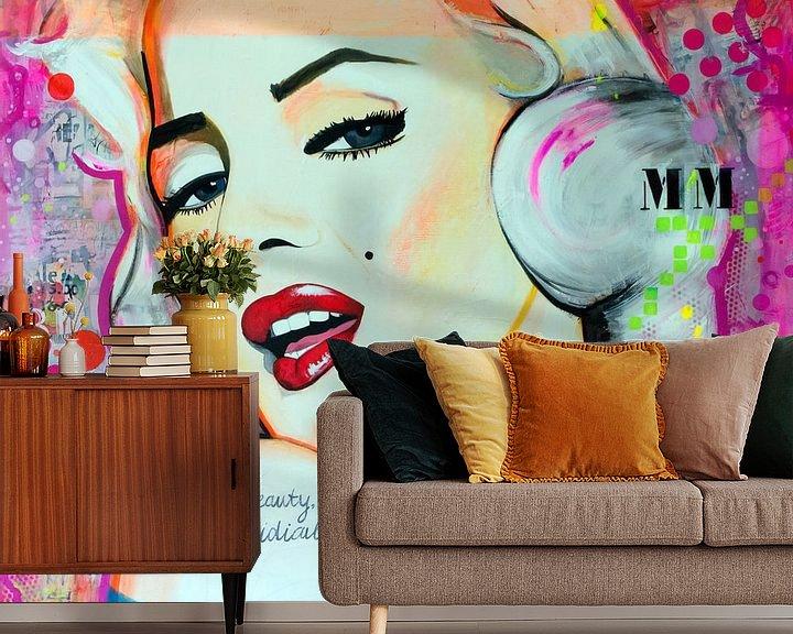 Sfeerimpressie behang: MM van Janet Edens