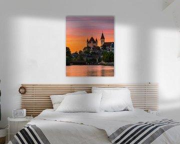 Schloss Thun, Schweiz von Henk Meijer Photography