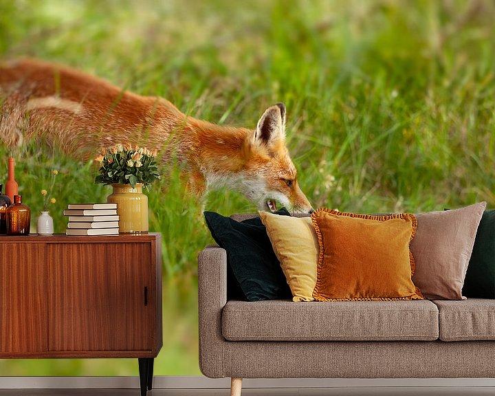 Beispiel fototapete: Fuchs in der Wildnis von Björn van den Berg