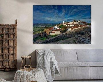 befestigtes Dorf,  Monsaraz von Jürgen Wiesler