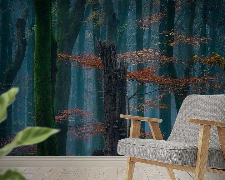 Sfeerimpressie behang: Contrast van Maaike van Tol