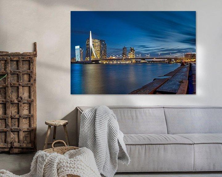 Beispiel: Erasmusbrücke Rotterdam von Wim van Beelen