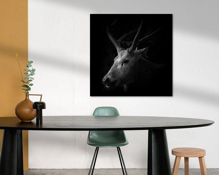 Beispiel: Hirsch von Jon Geypen
