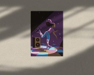 Roller Disco von Eduard Broekhuijsen