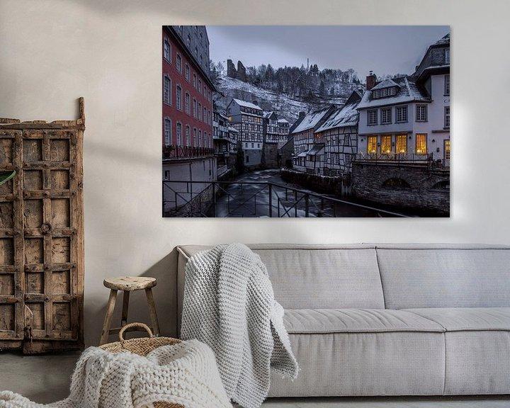 Sfeerimpressie: Monschau in de winter van Eus Driessen