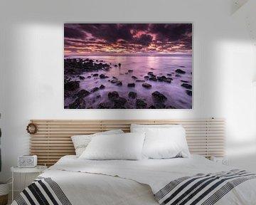 Ameland zonsondergang van Bart Harmsen