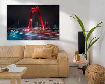 Willemsbrücke Rotterdam von Jeroen Mikkers