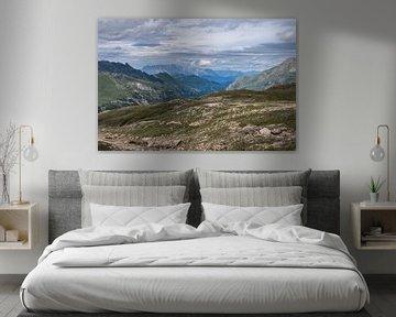 Romantisch berglandschap in de Oostenrijkse Alpen van Alie Messink