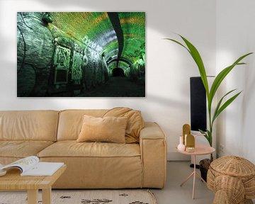 Tunnel in Utrecht von Mark Bolijn