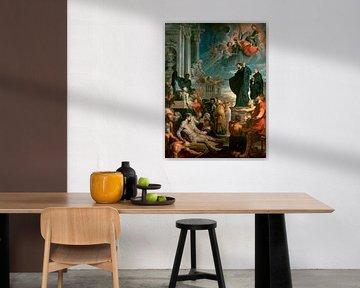 Die Wunder des heiligen Franz Xaver, Peter Paul Rubens