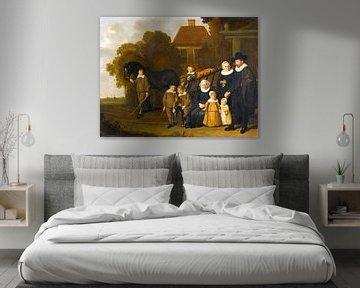 Gruppenporträt der Meebeeck Cruywagen Familie, Jacob van Loo