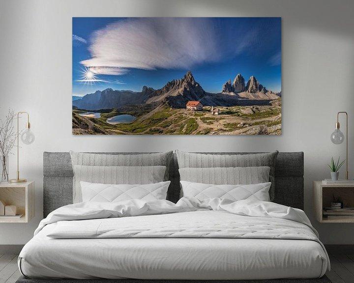 Sfeerimpressie: Drie pieken Panorama van Achim Thomae
