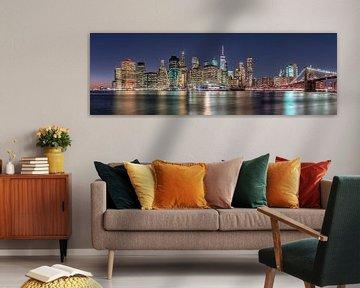 New York City Panorama van Achim Thomae