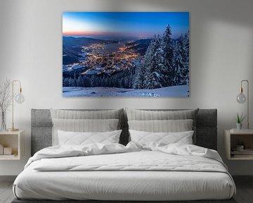 Winter in Tegernsee van Achim Thomae