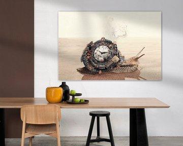 Steampunk-Sandschnecke von Elianne van Turennout
