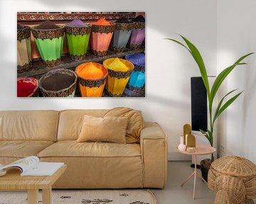 Kleurrijk Marrakech van Richard van der Woude