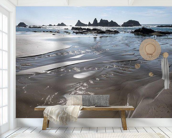 Sfeerimpressie behang: Oregon Coast, USA van John Faber