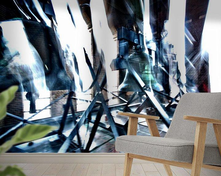 Sfeerimpressie behang: Bells are ringing van Erik Reijnders