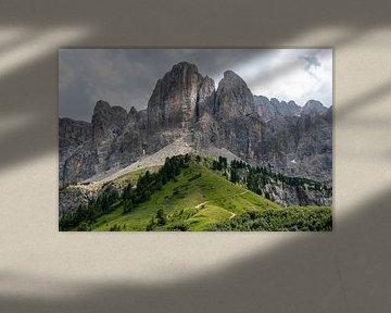 De Dolomieten, Italie van Richard van der Woude