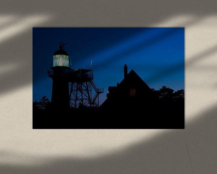 Sfeerimpressie: Vuurboetsduin by night van robert wierenga