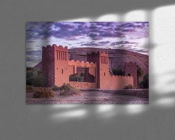 Stadttor von Ait Ben Haddou, Marokko von Maarten Hoek