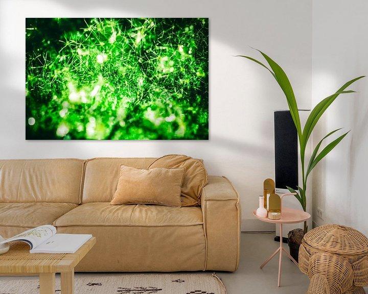 Sfeerimpressie: Super Green Galaxy van Joep Oomen