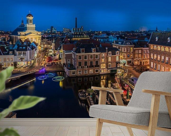 Sfeerimpressie behang: Leiden van Jeroen de Jongh