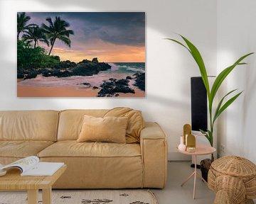 Sunset Secret Beach, Maui, Hawaii