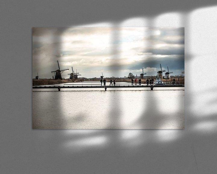 Sfeerimpressie: Kinderdijk 2019 van Brian Morgan