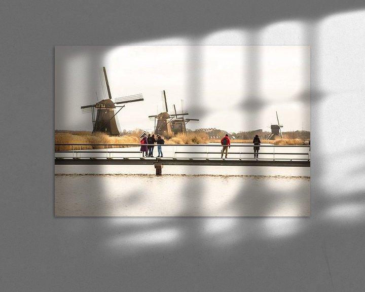 Sfeerimpressie: Kinderdijk van Brian Morgan