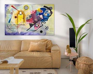 Gelb-Rot-Blau, Wassily Kandinsky