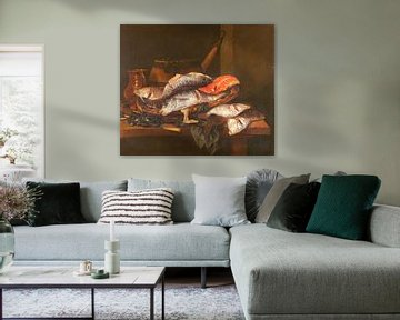 Stilleben mit Fischen, Abraham Hendricksz. van Beyeren