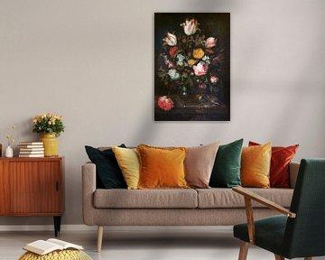 Stilleben mit Blumen, Abraham van Beyeren