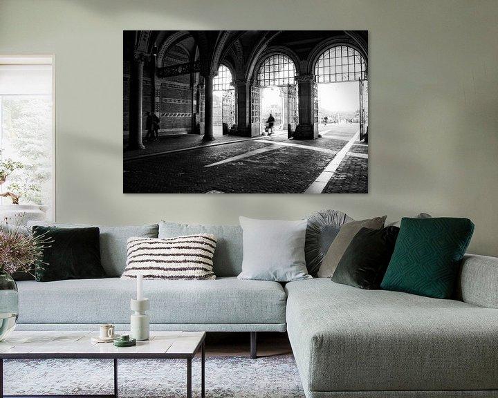 Sfeerimpressie: Onderweg in Amsterdam (Nederland) van Birgitte Bergman
