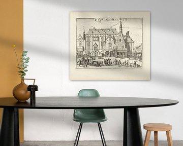 Het stadhuis van Haarlem, Romeyn de Hooghe