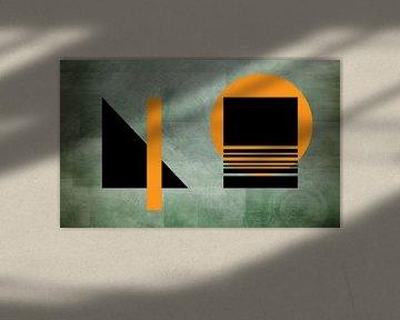 Geometrische vormen van Karl-Heinz Lüpke