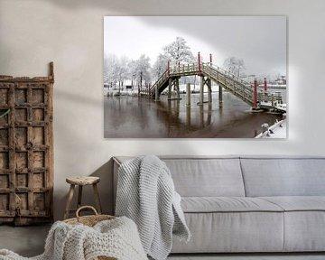 Pont au port de passage Spoordok à Musselkanaal