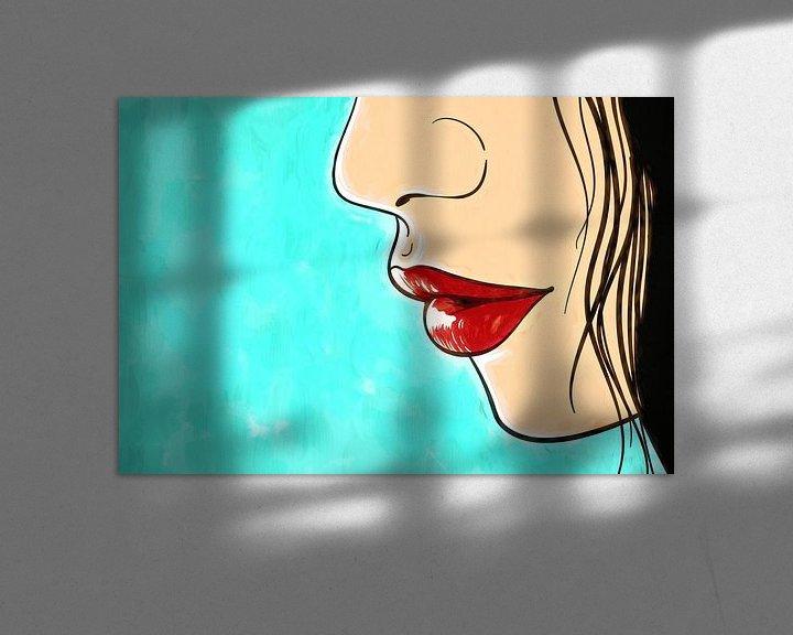 Impression: Lèvres sur Arjen Roos