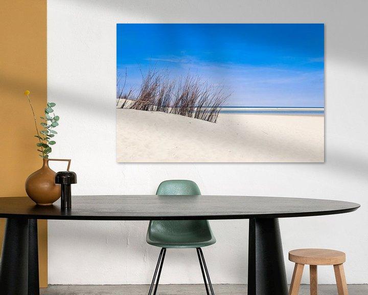 Sfeerimpressie: de duinen op het strand van texel van Martin Albers Photography